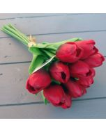 Artificial Real Touch Red Tulips