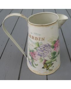22cm Metal French Country Style Jug