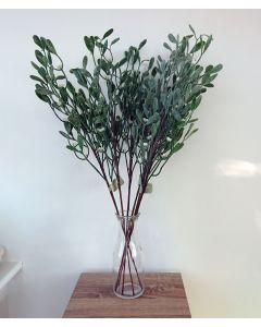 6 x Artificial Mistletoe Stems