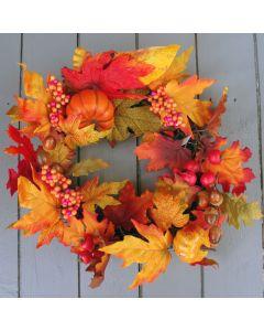 Artificial Autumn Wreath