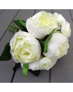 Artificial Ivory Peonies