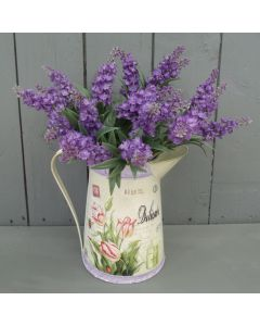 Artificial Lavender Flowers in Jug