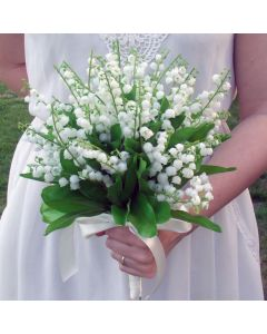 Artificial Lily of the Valley Bridal Bouquet