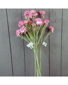 6 x 62cm Artificial Carnation Sprays