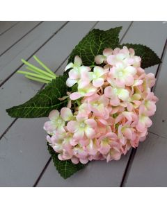 Artificial Pink Hydrangea Bunch