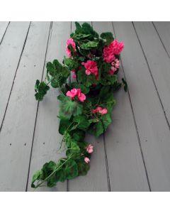 Artificial Pink Geranium Trailing Plant