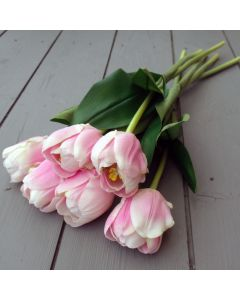 Artificial Pink Tulips