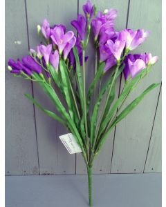 Artificial Purple and Lilac Freesia Bush