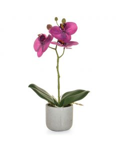 30cm Artificial Real Touch Purple Orchid