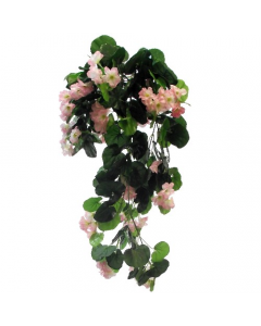 Artificial Light Pink Trailing Geranium