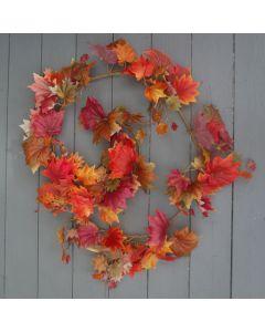 Artificial 182cm Maple Leaf Autumn Garland