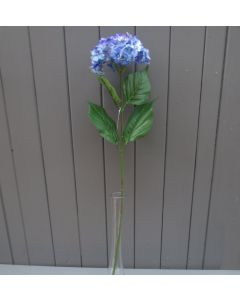 Artificial 55cm Single Blue Hydrangea