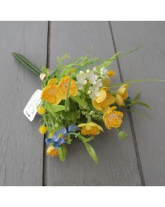 Artificial 20cm Buttercup Bunch