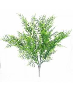 53cm Artificial Cypress Bush
