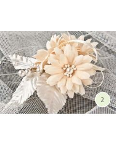 Artificial Cream Daisy Corsage