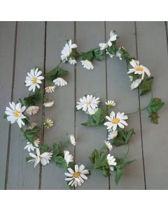 Artificial 5ft White Daisy Garland