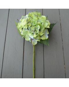 Artificial 51cm Large Green Hydrangea