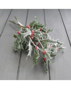 Artificial Holly Bunch