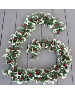 Artificail Holly Garland