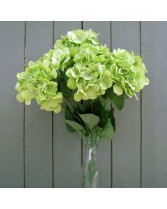 Artificial 56cm Green Hydrangea Bush