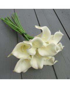 Ivory Calla Lilies