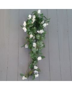 Artificial 70cm Trailing Ivory Bougainvillea