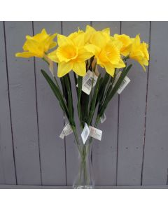 8 x Large Artificial Daffodils