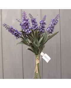 Artificial 34cm Lavender Bunch