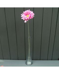 Artificial Single Light Pink Gerbera