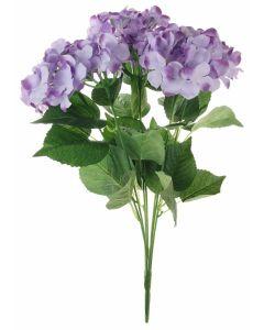 Artificial 56cm Lilac Hydrangea Bush