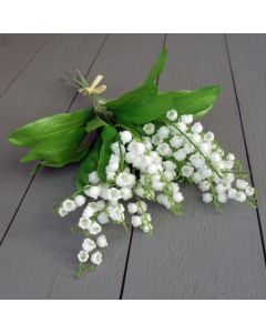 Artificial 32cm Lily of the Valley Bunch
