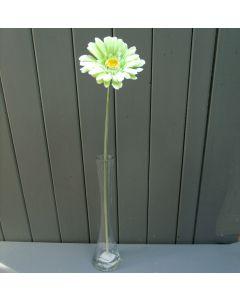 Artificial 55cm Single Lime Green Gerbera