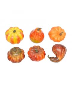 Artificial Mini Pumpkins x 6