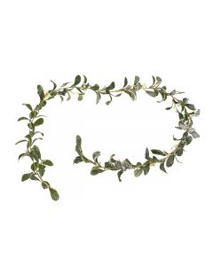 Frosted Artificial Mistletoe Garland
