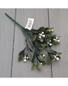Artificial 24cm Mistletoe Spray