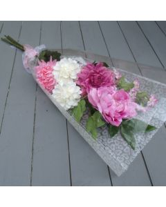 Artificial Pink Flowers Bouquet
