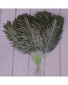 12 x Artificial 50cm Palm Leaf