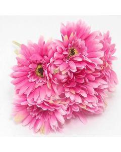 Artificial Pink Gerberas - Bunch of 7