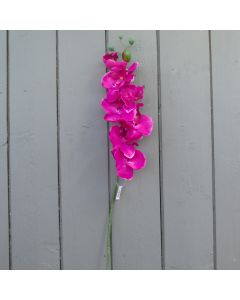 Artificial 66cm Pink Orchid Spray