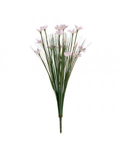 Artificial 42cm Pink Star Flower Bush