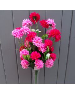 Artificial Pink Chrysanthemums
