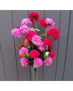 Artificial Pink Chrysanthemums