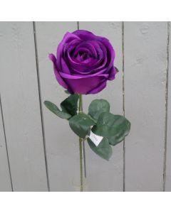 Artificial Purple Rose