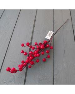 Artificial 45cm Red Berry Spray