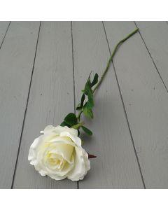 Artificial 60cm Single Elegance Cream Rose