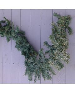 Artificial 9ft Green Spruce Garland