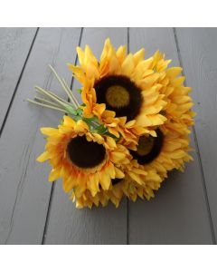 Artificial 35cm Sunflower Bunch