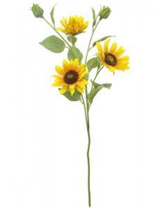 65cm Artificial Sunflower Spray