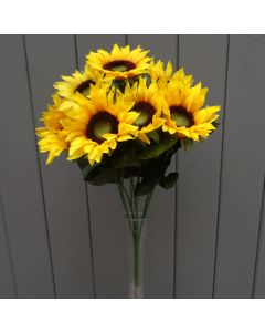 Artificial 41cm Sunflowers Bush