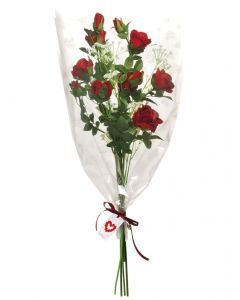 Artificial Red Rose Bouquet